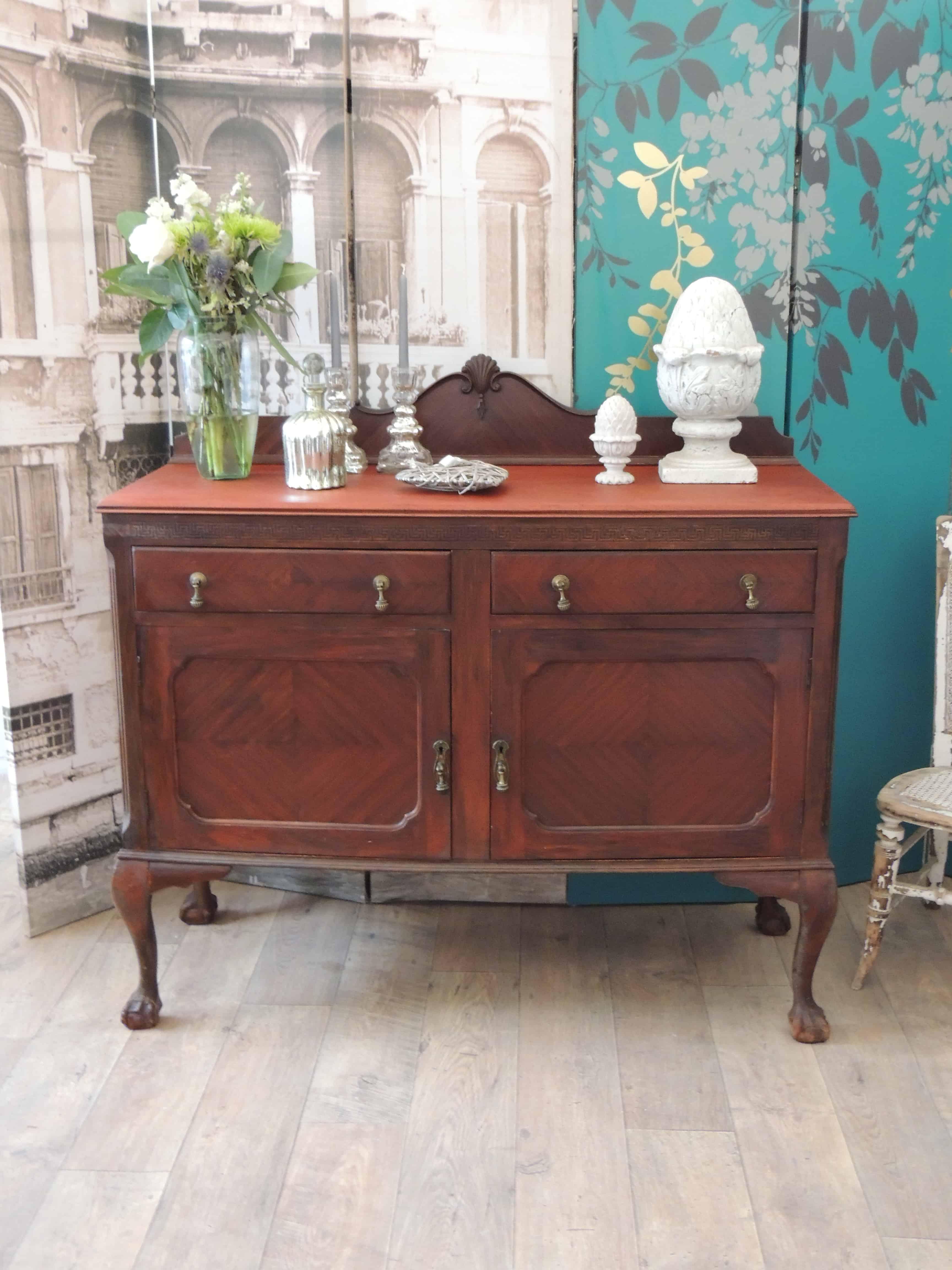 Lovely Antique Mahogany Edwardian Sideboard