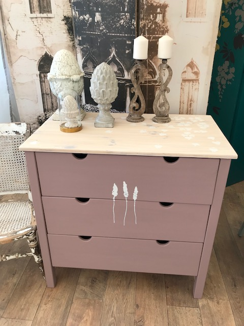 Lovely Shabby Chic Nursery Chest Of Drawers
